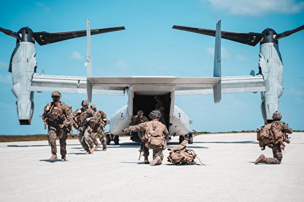 沈舟:美军无预警登陆演习再威慑中共
