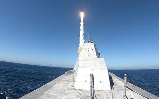 美朱瓦特级驱逐舰 首次成功试射标准二型导弹