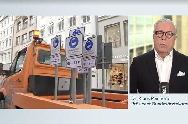 口罩有防疫功效嗎?德國醫生協會主席質疑