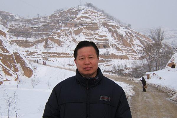 高智晟妻子中領館前抗議:低估了中共邪惡