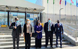 14友邦一致挺台 致函讓台灣加入聯合國