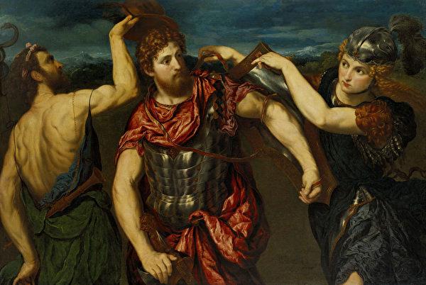 恐惧, 珀尔修斯, 荷米斯, 雅典娜
