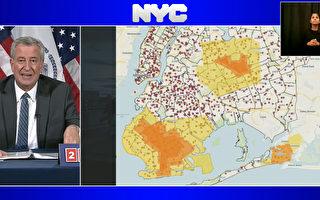 纽约市10月8日关闭橘色疫区学校 餐厅无堂食