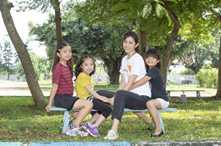 任容萱邀請大家以行動關懷女童權利。