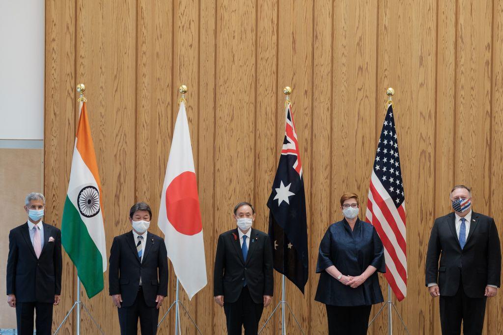 四方會談 或促成亞洲小北約
