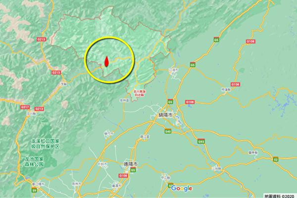 3天5震后 四川绵阳北川县再连2次地震