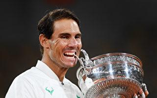 納達爾勇奪法網第13冠 大滿貫累計20冠