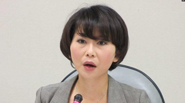民進黨立法委員陳亭妃。資料照。(美國之音)