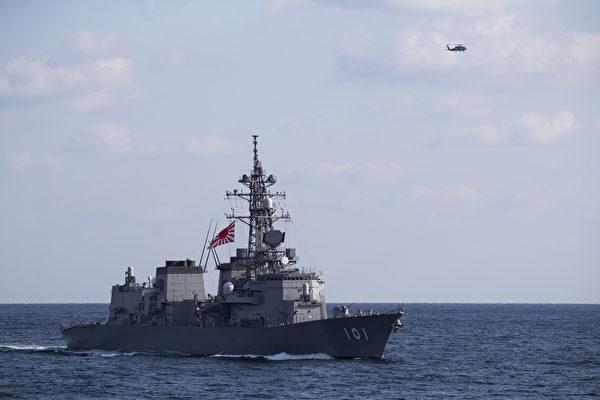 日本于南海进行反潜演习 出动三艘军舰