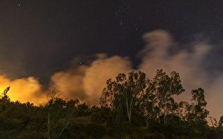 圣安娜强风又起 南加发布野火大浪警报