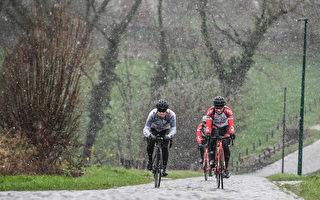 冬季騎車或步行撞傷事故率增加