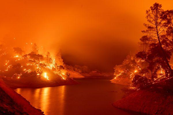 川普總統批准加州野火救濟申請