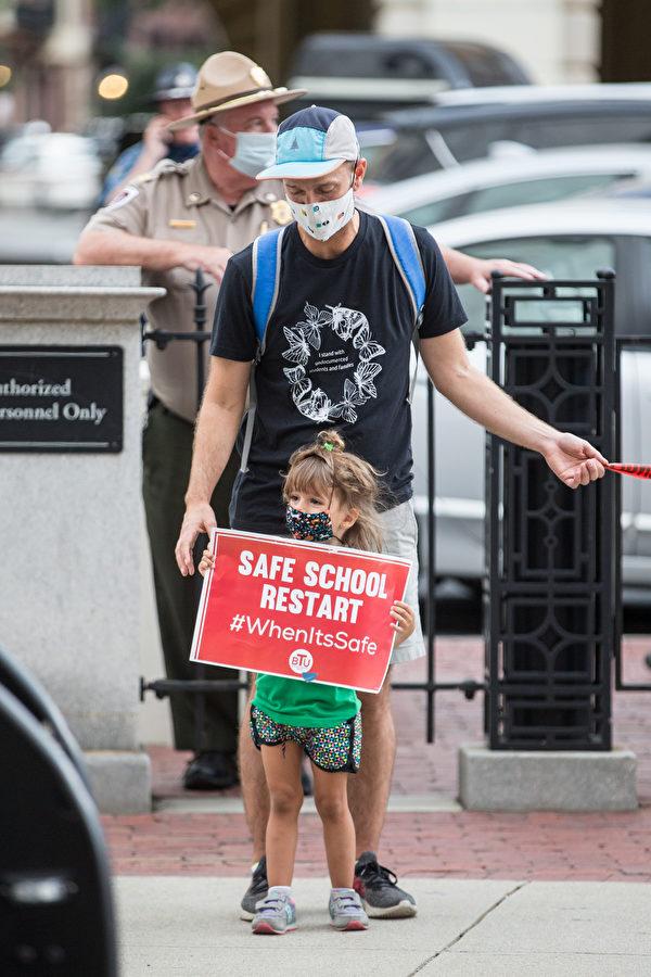 研究顯示麻州可安全開放課堂