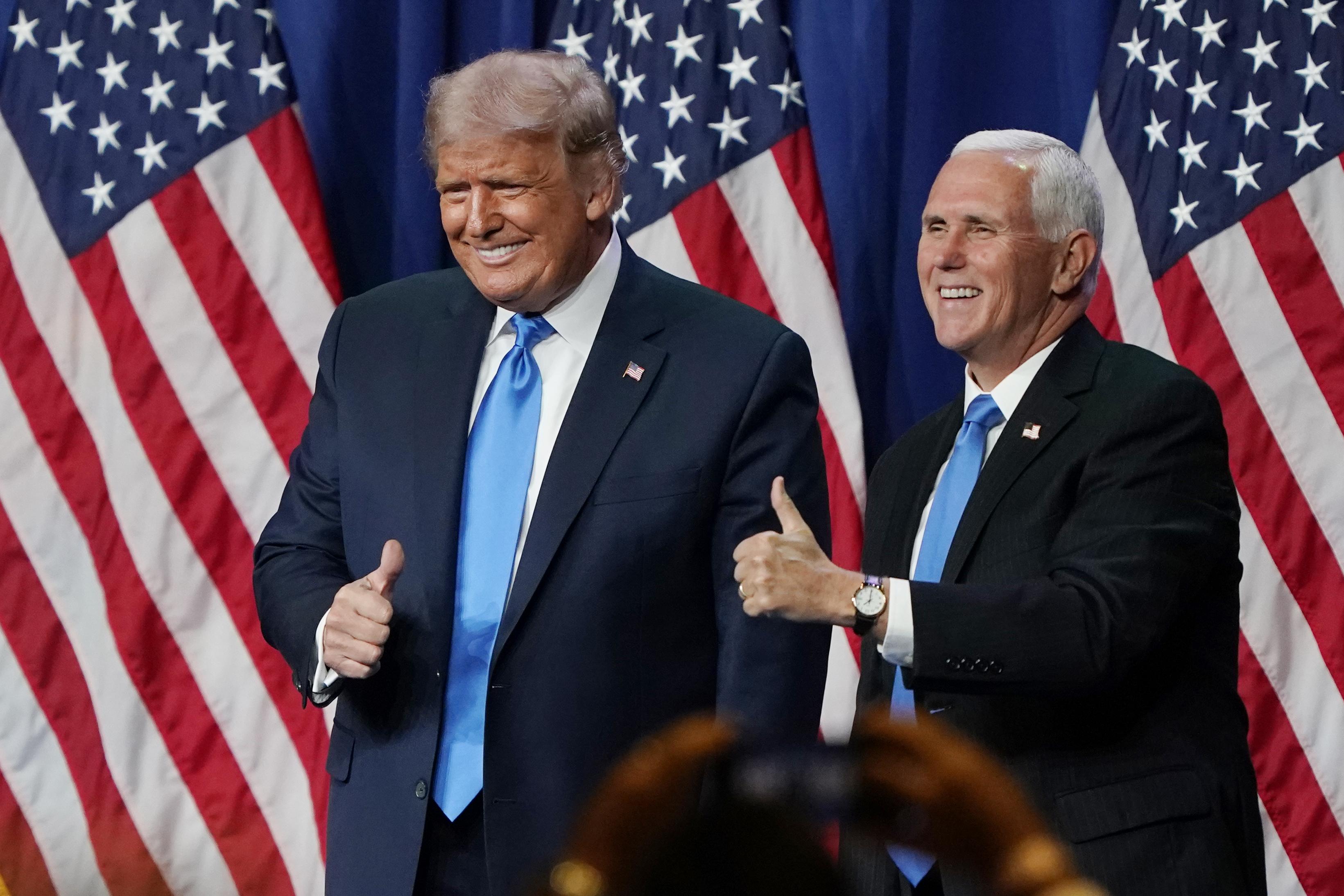 彭斯:再選特朗普 繼續重拾美國諾言