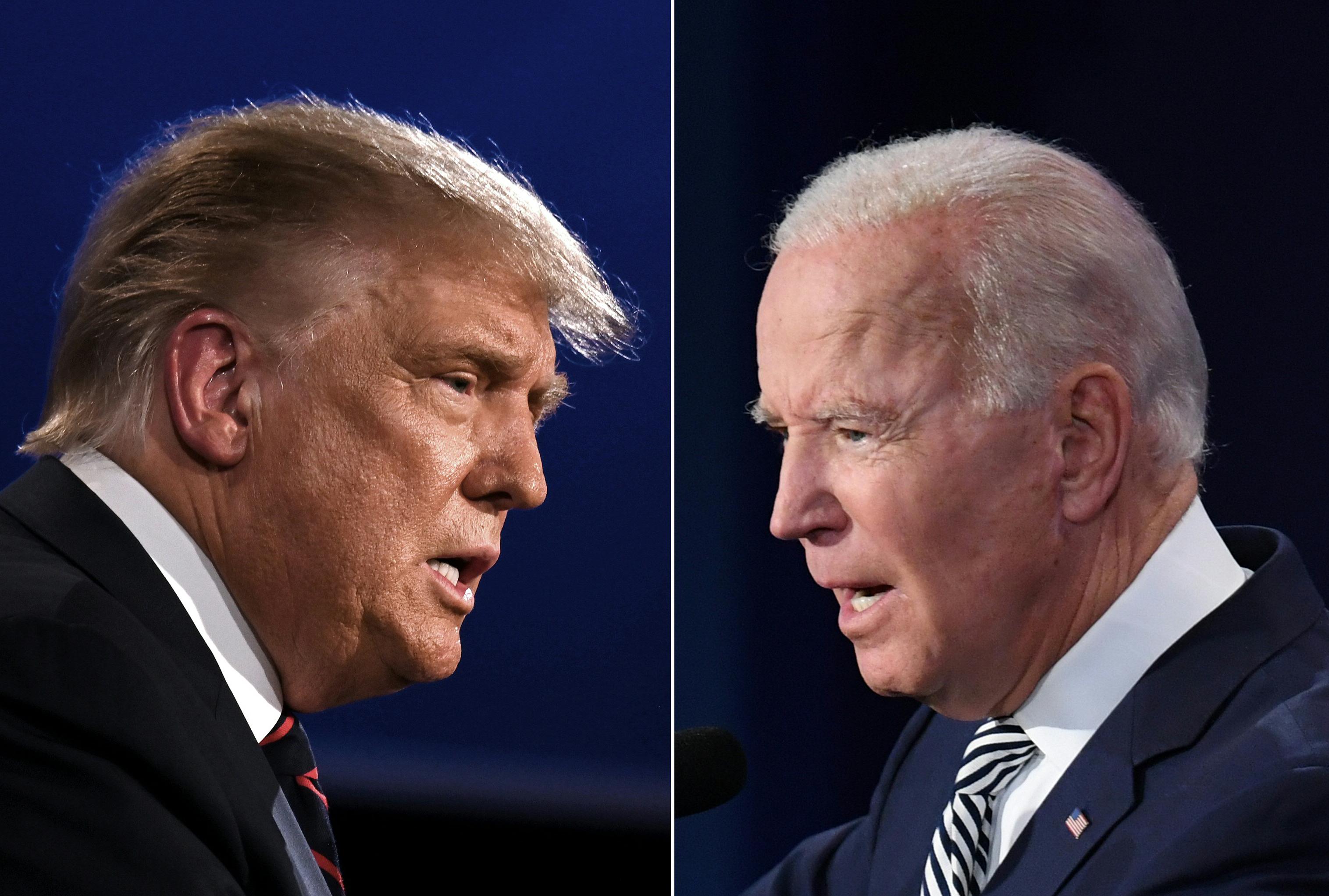 特朗普談大選:美國夢和社會主義地獄間選擇