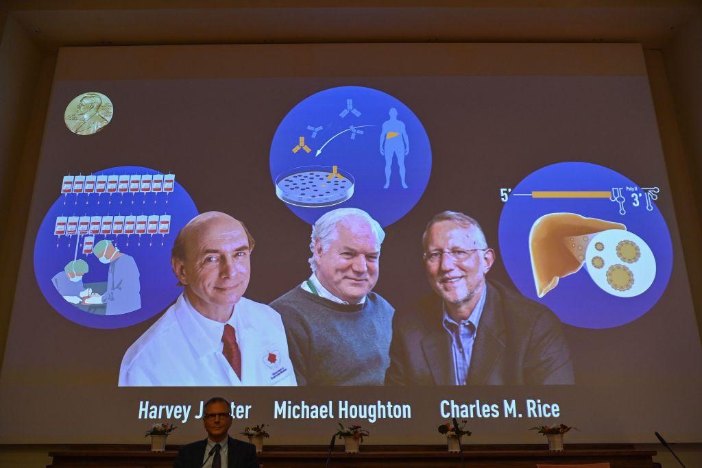 諾貝爾醫學獎揭曉 英美三科學家獲獎