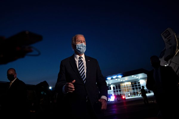 拜登:川普若未完全康复 应取消下一轮辩论