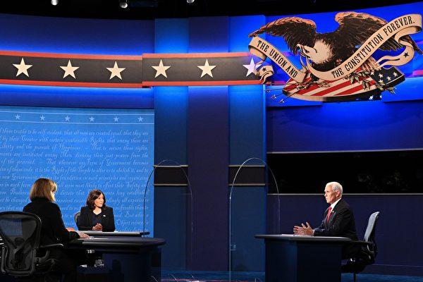 民調中的搖擺選民:彭斯是辯論會贏家