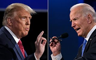 組圖:美國大選終場辯論 川普拜登激烈交鋒