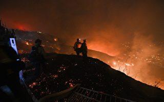 两山火肆虐 南加州近10万人被迫疏散