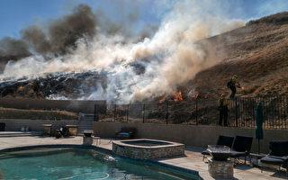南加州华人聚居区 两山火得到部分控制