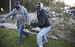 泽塔风暴袭墨西哥湾沿岸 250万户断电 3人死