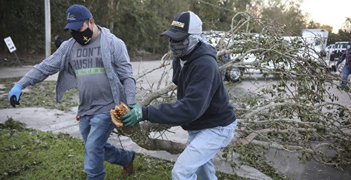 澤塔風暴襲墨西哥灣沿岸 250萬戶斷電 3人死