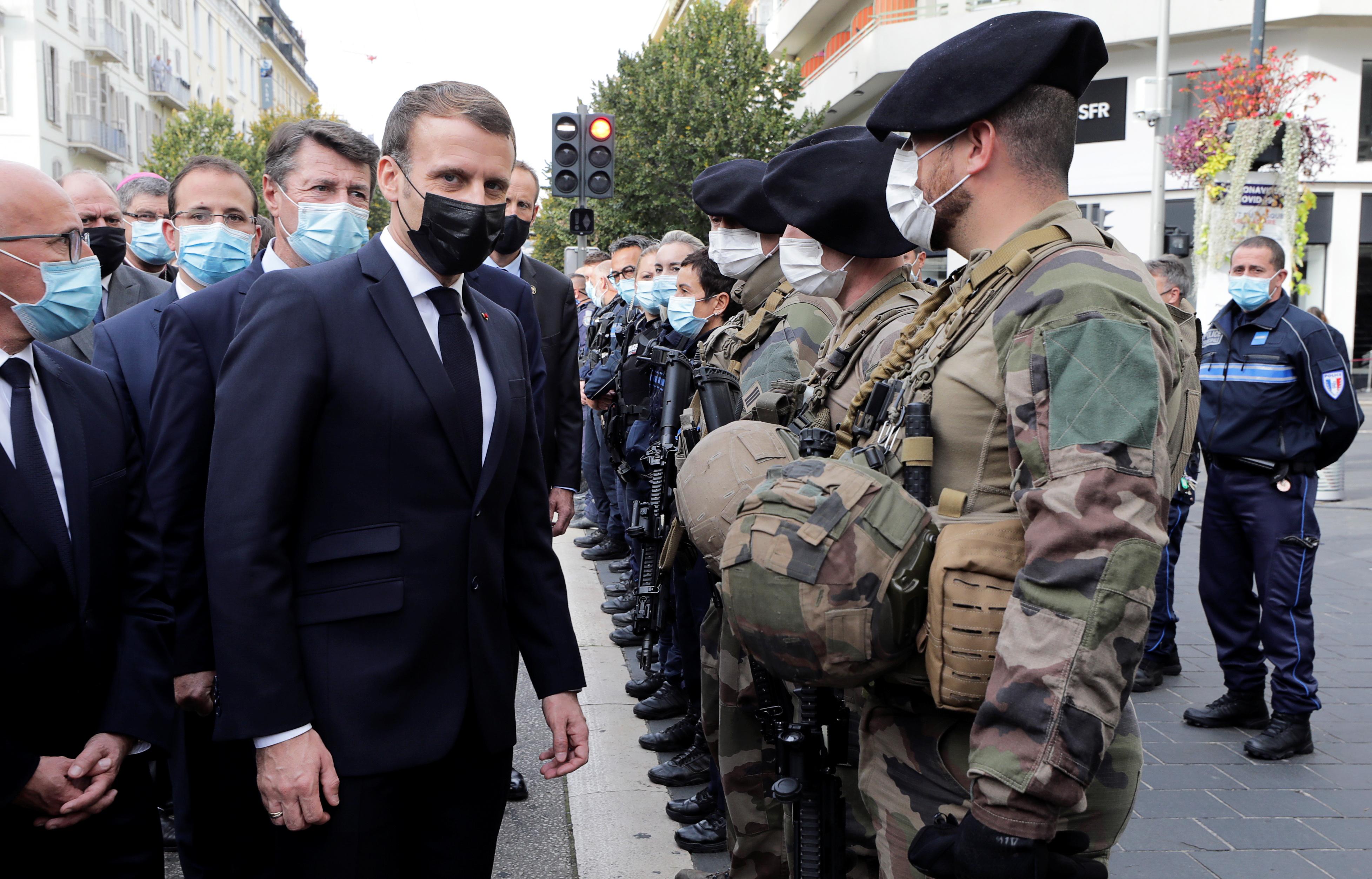 法國再發生持刀斬首恐襲事件 三人死多人傷