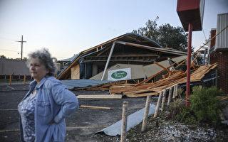 組圖:颶風澤塔侵襲路州 當地約50萬戶停電