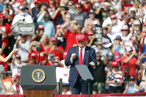 分析:川普坚守政治制度 获佛州选民支持