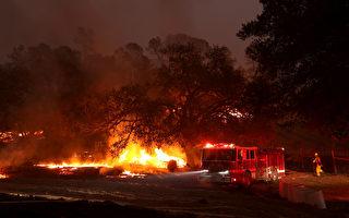 周末降雨有助于扑灭玻璃大火? 消防官员不乐观