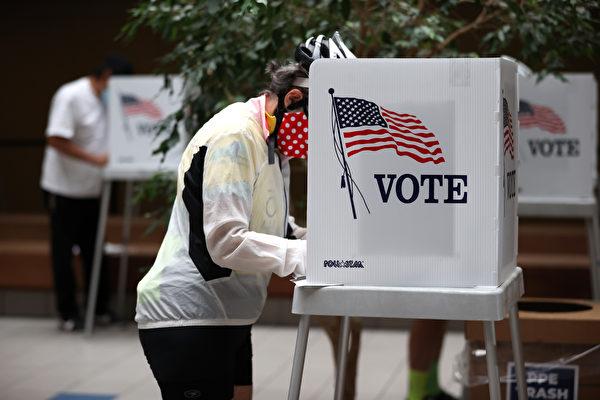 """选举在即 加州现假""""警察选民""""指南"""