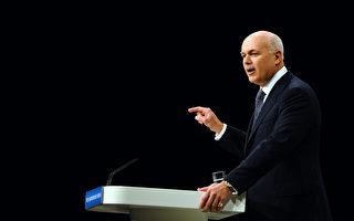 英保守党前党魁:应审查中共在英国的投资