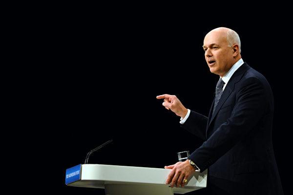 英保守黨前黨魁:應審查中共在英國的投資