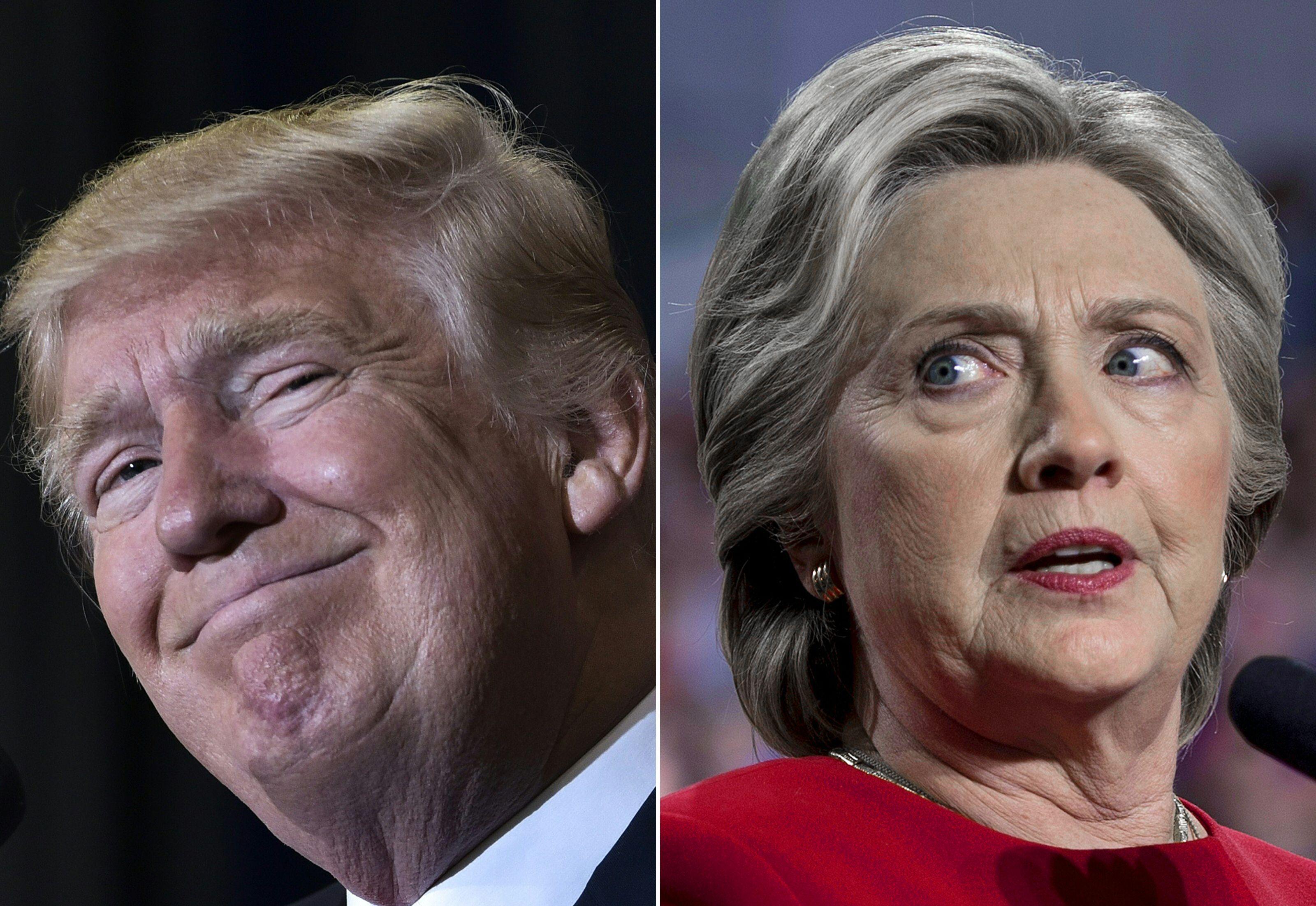 蓬佩奧:大選前或發佈希拉莉電子郵件