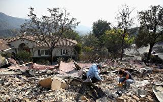 研究:北加州野火后 建筑业工作大增