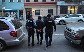 美ICE今秋第二轮行动 逮捕176在逃非法移民