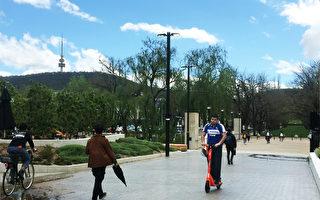 堪京千輛電動滑板車上路 警長敦促安全騎行