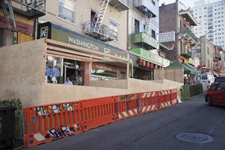 旧金山中国城社区 关心游民和治安问题