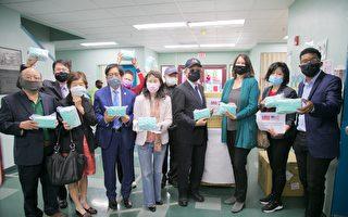 急难救助协会捐赠口罩给圣心组织
