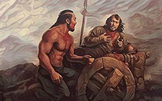 【忠义传】铁木真的福将 者勒蔑冒死救主