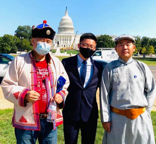 金世訓也關注內蒙古的人權問題。(受訪者提供)