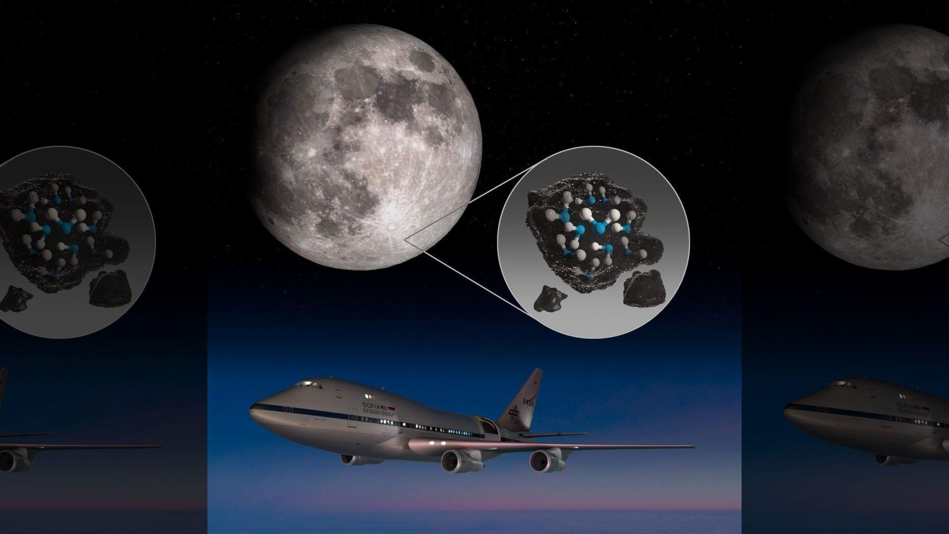 NASA在月球陽面發現水 或有助於深空探索