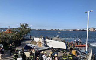 水上飛機掉落在白石鎮碼頭   一人死亡