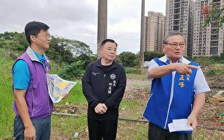 桃議長與議員 要求市府中央A7聯外道路開闢