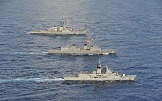 美日法澳四國東海軍演 學者:應對中共霸權