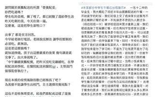 少年发帖遭训诫骚扰 大陆维稳延伸至中学生
