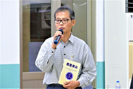追查组织台湾分会会长、前军事检察长李正雄表示,现在还有台湾民众到大陆去移植器官,如果能让他们知道真相,真的是功德无量。