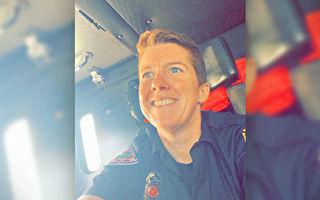 抗癌成功 美国女消防员重返喜爱岗位