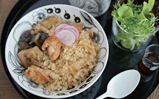 【电子锅料理】麻油鸡菇菇炊饭